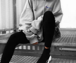 fashion, style, and Balenciaga image