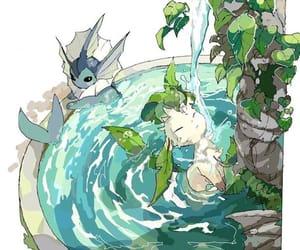 artwork, pokemon, and evelution image