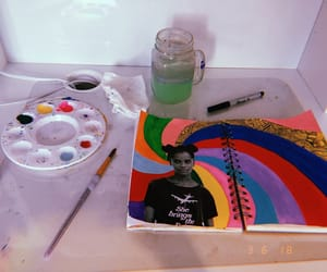 art, painting, and saturation image