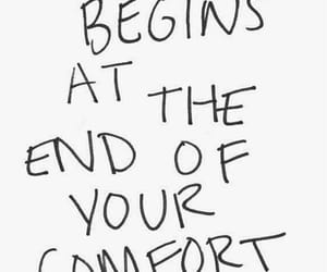quotes, life, and comfort zone image