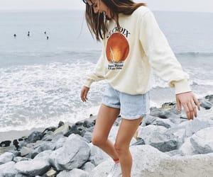 beach, fashion, and girl image