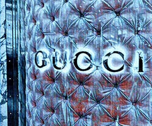 aesthetic, blue, and gucci image