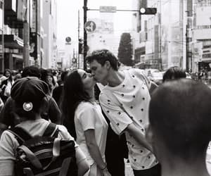 couple, kiss, and ansel elgort image