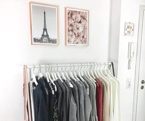 clothes rack, decor, and home image
