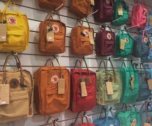 backpack, colors, and fjallraven kanken image