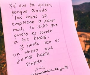 amor, cariño, and frases image