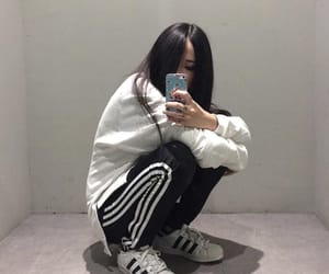 adidas, tumblr, and asian image