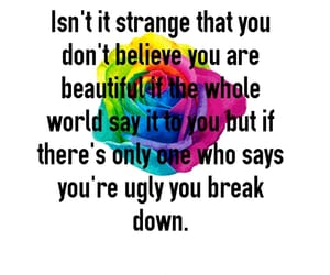 beautiful, ugly, and beauty image