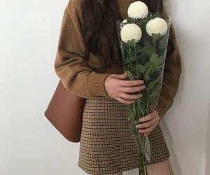 fashion, clothes, and flowers image