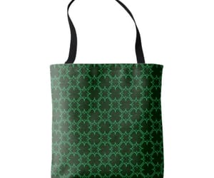 bags, irish, and four leaf clover image