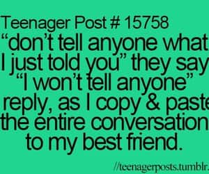 best friend, posts, and teenager posts image