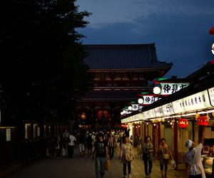 asakusa, asian, and japan image
