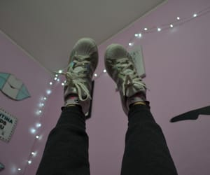 alternative, feet, and lights image