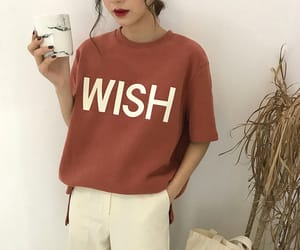 about a girl, asian fashion, and casual image