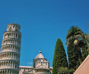 adventure, leaning tower, and travel image