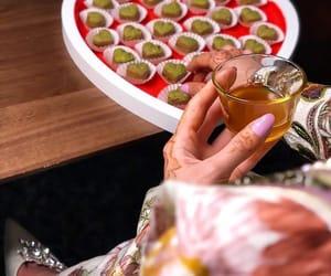 arab, heels, and tea image