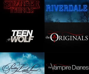 The Originals, the vampire diaries, and pretty little liars image