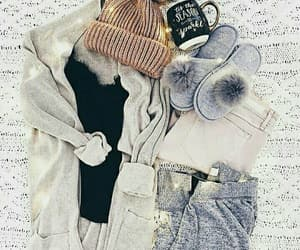 fashion, cozy, and sweater image