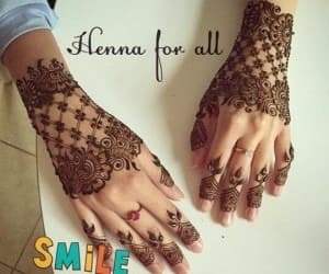 fashion in india and trending mehndi designs image