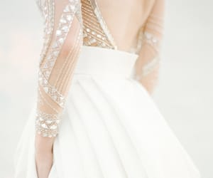 bridal gown, embellishment, and embroidery image