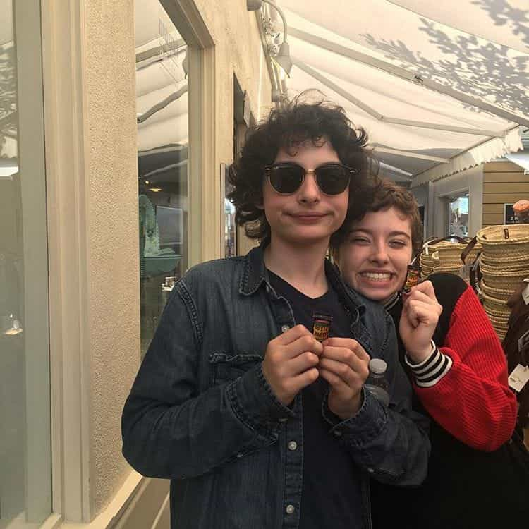 article, finn wolfhard, and gold image