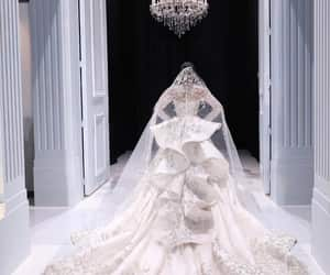 dress, haute couture, and f w image