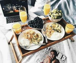 food, breakfast, and friends image