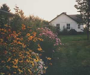 cottage, spring, and country image