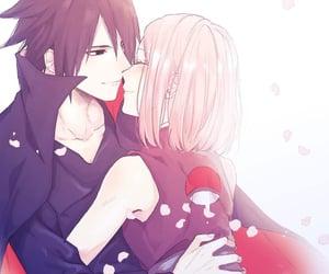 uchiha sasuke and haruno sakura image