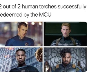 black panther, captain america, and chris evans image