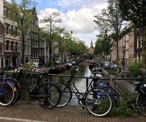 amsterdam, bike, and city image