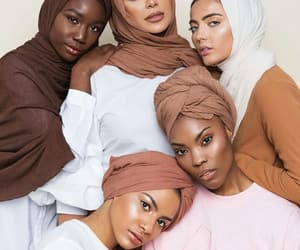 beautiful, hijabis, and strong womens image