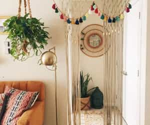 brown, decor, and green image