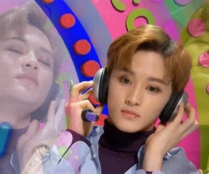nct, mark, and meme image