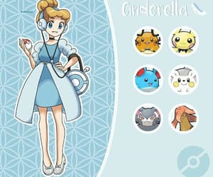 art, cinderella, and princess image