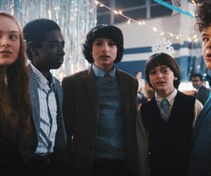 stranger things, will byers, and mike wheeler image