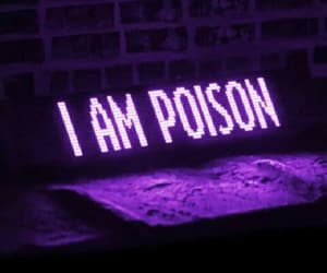 aesthetic, poison, and purple image