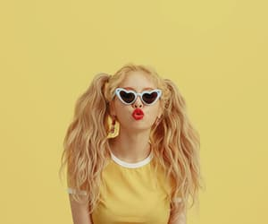 hyuna, kpop, and yellow image