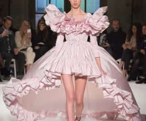 dress, moda, and model image