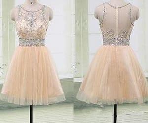 short dress, graduation dress, and junior prom dress image