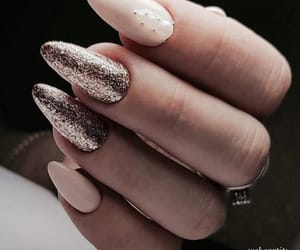 glitter, jewelry, and long nails image