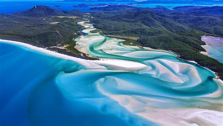 article, whitsundays, and australia travel image
