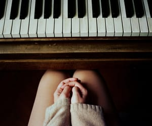 article, piano, and music image