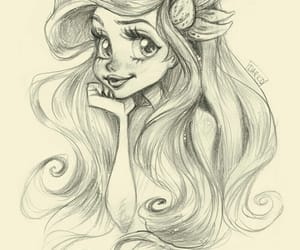 art, drawing, and ariel image