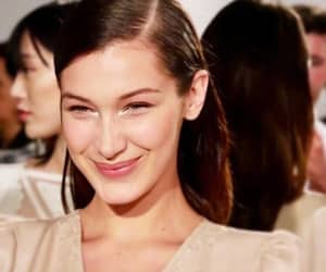 smile and bella hadid image