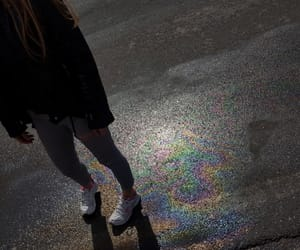 clothes, rainbow, and feels image