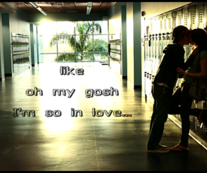in love, teenager, and OMG image