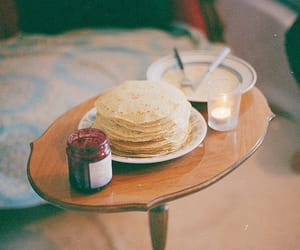food, pancakes, and photography image