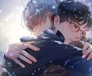 bl, victor, and yuri on ice image