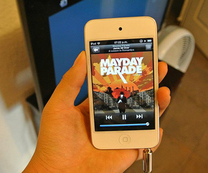 iphone, ipod, and mayday parade image